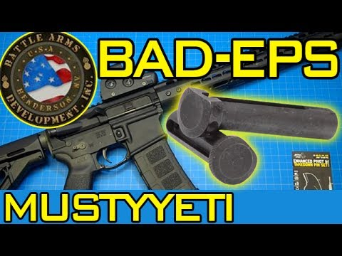 mustyyeti - Today I'm finally getting my hands on the Enhanced Pins Set from Battle Arms Development, or what they call the ETP & EPP. I first must say these are the eas...