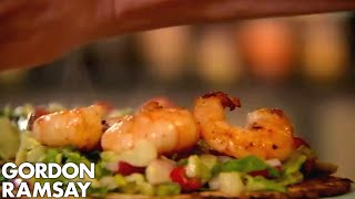 Gordon Ramsay's Prawn Tostadas by Gordon Ramsay