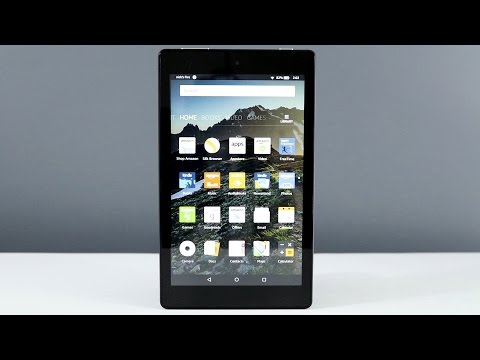 All New Fire HD 8 Tablet 2016 Review
