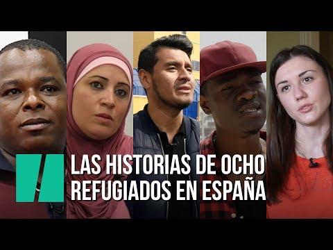 Las historias de ocho refugiados en España