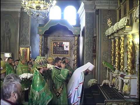 Літургія у день престольного празника хр. прп. Параскеви