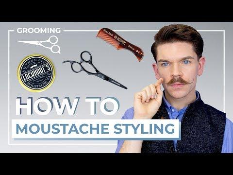 Beard styles - How To Style A Handlebar Moustache  3 Step Tutorial