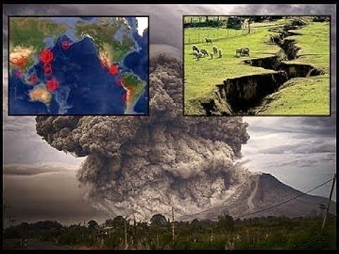 Major Earthquakes and Volcanoes 2018 - Tsunamis, Pole Shift Events to Occur