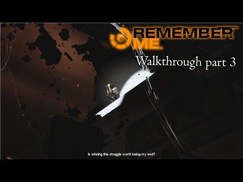 Remember Me - Walkthrough part 3 - 1080p 60fps - No commentary