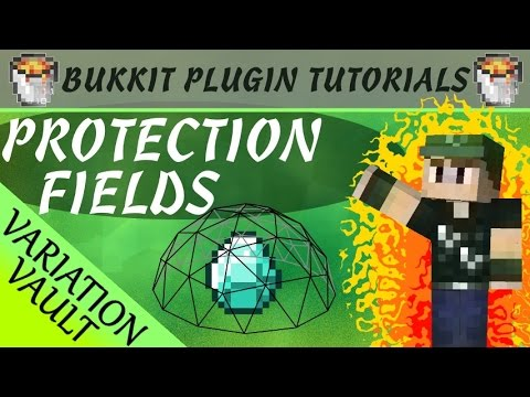 Protection - This plugin lets you add protection fields that players can build to create a shield to protect their land easy to set up with different strengths, iron, gold, diamond, emerald download :...