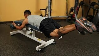 Plane of Motion on a Leg Curl Machine : Leg Exercises