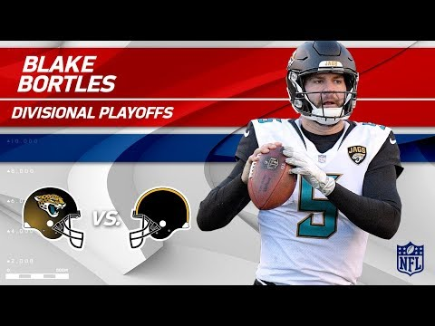 Video: Blake Bortles Helps Jags Defeat Pittsburgh!   Jaguars vs. Steelers   Divisional Player HLs
