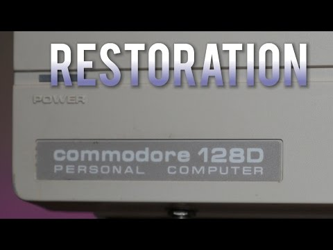 Commodore 128D Restoration Project