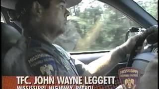Trooper John Wayne Leggett REAL STORIES OF THE HIGHWAY PATROL 1994