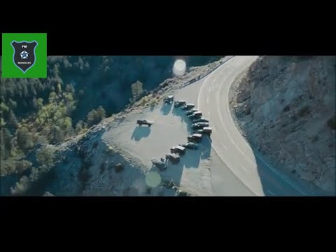 Furious Seven 7 Hindi Dom Show Time  Car Jump ( Extra clip 10 )