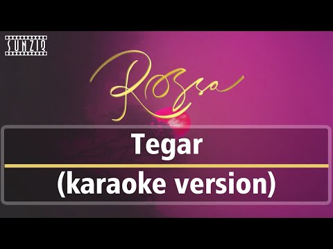 Rossa - Tegar (Karaoke Version + Lyrics) No Vocal #sunziq