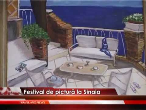 Festival de pictură la Sinaia – VIDEO