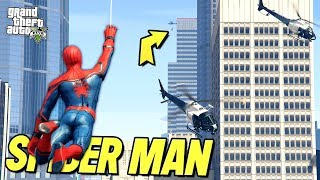 SPIDER-MAN: Incredible *NEW* Abilities!! (GTA 5 Mods)