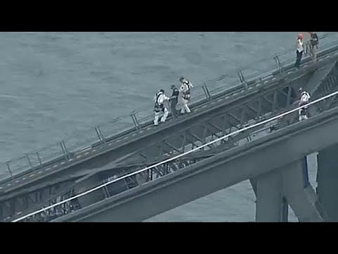Αυστραλία: Άνδρας σκαρφάλωσε στη γέφυρα του Σίδνεϊ