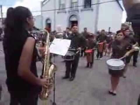 Banda Yeshua tocando o hino Meu Barquinho. Em Aroeiras PB