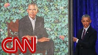 President Obama's official portrait unveiled waptubes