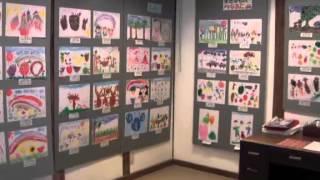 羽黒小学校1・2年生図画作品展