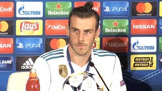 Video Gareth Bale Man Of The Match Press Conference - Champions League Final - Threatens To Leave Madrid MP3, 3GP, MP4, WEBM, AVI, FLV Juni 2018