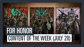 Check out this week's new content: ELITE Outfits - Available for all heroes.For Honor is now available on PlayStation 4, Xbox One, and PC.Buy the game : http://ubi.li/nks2c  For more info: http://ubi.li/4y839