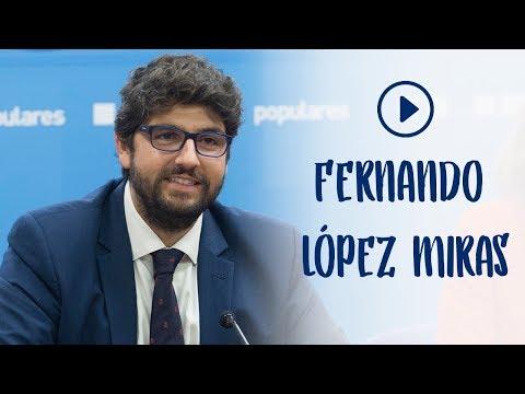 """López Miras: """"De lo que tenemos que hablar es de los siguientes 40 años de nuestro gran país"""""""