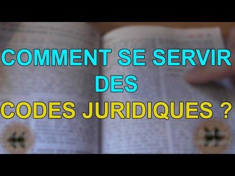 COMPRENDRE ET SAVOIR RECHERCHER DANS LES CODES JURIDIQUES, Prof. Jon.
