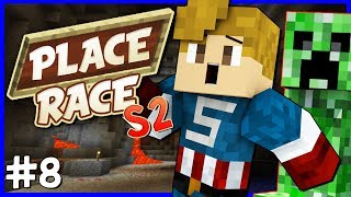 PLACE RACE S2 | #8 | SNEAKY, SNEAKY CREEPERS! | with NettyPlays