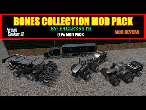 FS17 Bones Collection By Eagle355th