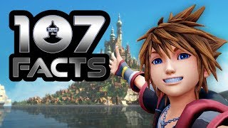 107 Kingdom Hearts III Facts YOU Should Know! | The Leaderboard