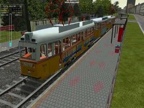 msts tram Uv villamos
