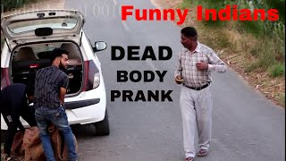 Latest funny video   Dead body Prank   Funny indian video   Pyscho prank   New Whatsapp Funny Video