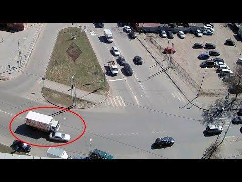 Авария в Серпухове на улице Ворошилова