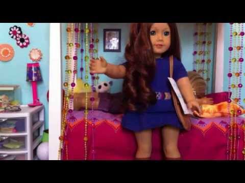 ... american girl doll isabelle girl of the year 2014 charlotte s spa day
