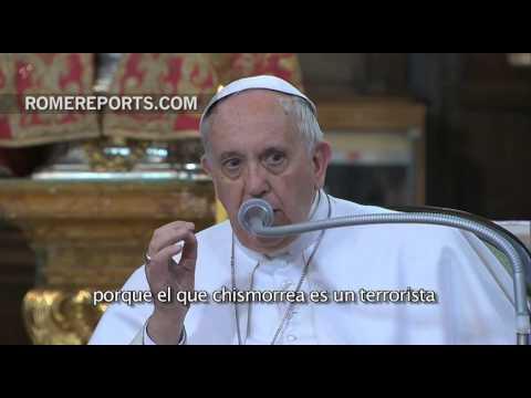 Consejos de Francisco a religiosos y seminaristas