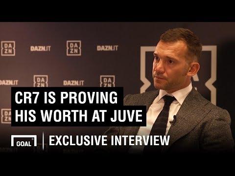 Andriy Shevchenko: Cristiano Ronaldo is proving his worth at Juventus - Thời lượng: 2 phút, 48 giây.