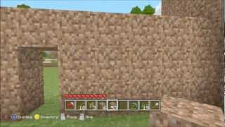 Minecraft Lets Build!: How To Build A Mud Castle (Part 1)