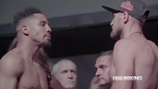 Andre Ward and Sergey Kovalev weighed in ahead of their upcoming rematch.  Ward vs. Kovalev 2 happens Saturday, June 17 live on pay-per-view beginning at 9pm ET/6pm PT.Subscribe to HBO Boxing YouTube channel: http://www.youtube.com/hboboxingHBO Boxing on Instagram: http://instagram.com/hboboxingHBO Boxing on Snapchat: https://www.snapchat.com/add/hboboxingHBO Boxing on Facebook: https://www.facebook.com/hboboxingHBO Boxing on Twitter: https://twitter.com/HBOboxingHBO Boxing Podcast on Soundcloud: https://soundcloud.com/hboboxingHBO Boxing Official Site: http://www.hbo.com/boxingHBO Sports on HBO GO® http://itsh.bo/ij8oqS.Inside HBO Boxing: http://www.insidehboboxing.com/
