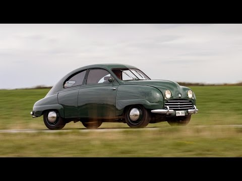 Saab 92 Saab 92 V6 Griffin from 1950 with 300 hp