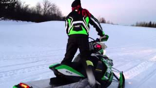 7. 2013 XF 1100 Turbo Sno Pro Arctic Cat Snowmobile Visual Eddie Vegas MN