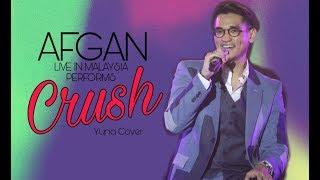 Afgan performs Crush (Yuna cover)