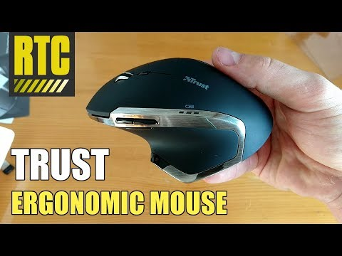 Ergonomic Wireless Mouse Trust Evo Advanced - Laser Computer Maus