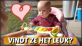 BABY iN DE LOOPSTOEL 👶 | Bellinga Familie Vloggers #1118