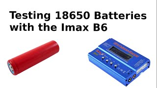 Video Testing 18650 Li-ion Batteries from Old Laptops with my Imax B6 charger MP3, 3GP, MP4, WEBM, AVI, FLV September 2019