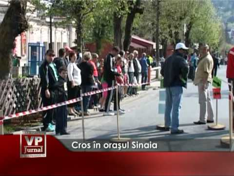 Cros în oraşul Sinaia