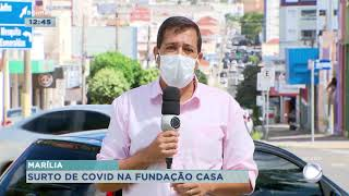 Dois funcionários morrem após surto de covid na Fundação Casa de Marília