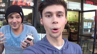 Today, I hang out with Matthew Lush and try a vegan Big Mac. Then, we try some odd Thai candy that was made from beans and was kind of weird... haha. Anyway, I hope you guys enjoy this video! Subscribe for more! SUBSCRIBE TO MY MAIN CHANNEL FOR FRIDAY VIDEOS: http://youtube.com/jackissuchatoolFOLLOW ME!FACEBOOK: http://facebook.com/officialjackmINSTAGRAM: http://instagram.com/jmerridewTWITTER: http://twitter.com/officialjackmPURCHASE MY BOOK: http://smarturl.it/teenageidolTUMBLR: http://jmerridew.tumblr.com