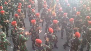 Video Keren!!! Kumpulan yel yel komando baret merah MP3, 3GP, MP4, WEBM, AVI, FLV Desember 2018