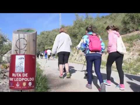 Más de 300 senderistas realizan la ruta de Fray Leopoldo