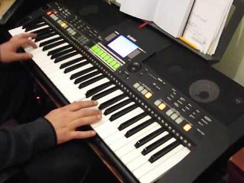 видео на синтезаторе белые розы видео