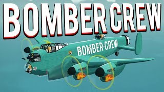 ENDLESS FIGHTER SWARMS! BOMBING A FACTORY! Bomber Crew Update    BOMBER CREW GAMEPLAY LETS PLAY