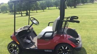7. 2017 YAMAHA DRIVE2 QUIETECH EFI PTV JASPER RED METALLIC